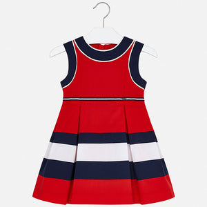 Stripe Inset Sundress  MAYORAL