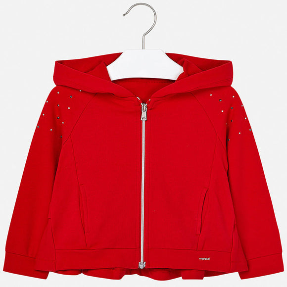 Hooded Sparkle Shoulder Jacket MAYORAL
