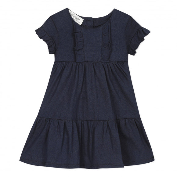 Ruffle Dress   JEAN BOURGET