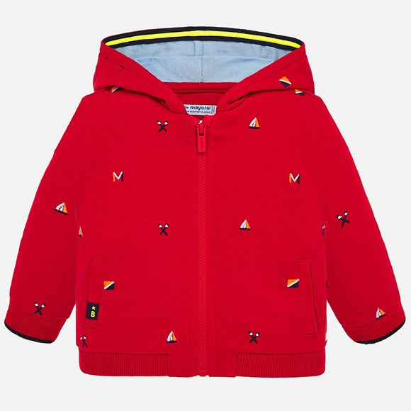 Sailboat Hooded Jacket    MAYORAL