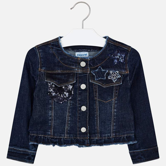 Star Denim Jacket  MAYORAL