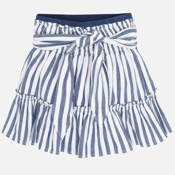 Blue & White Stripe Skirt  MAYORAL