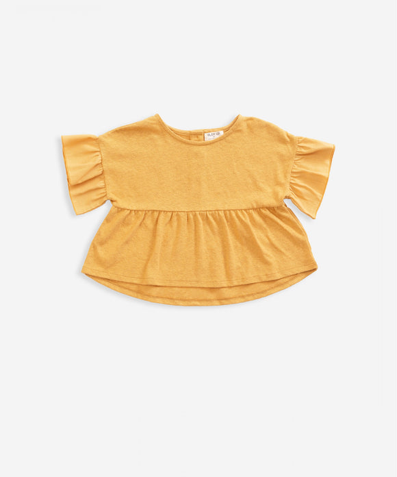 Ruffle Sleeve Top                                      PLAY UP