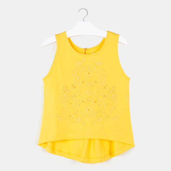 Embroidered Tank Top MAYORAL