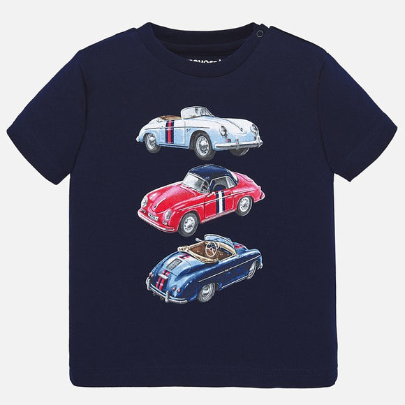 Short Sleeve Old Cars T-Shirt MAYORAL