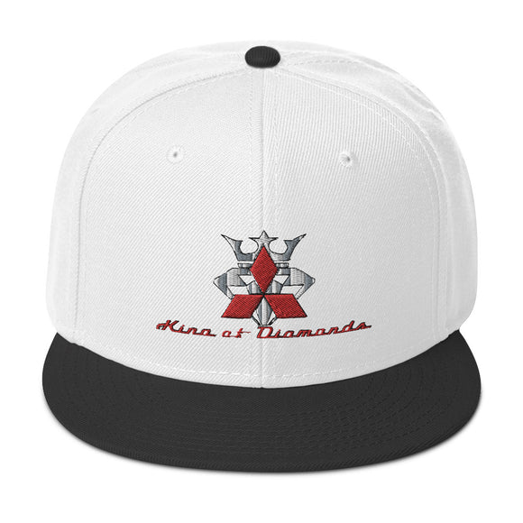 Mitsubishi 'Diamonds' Snapback Hat