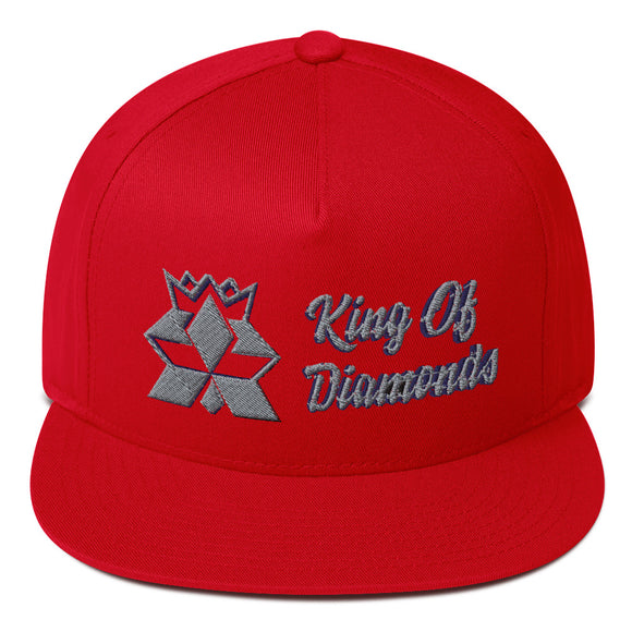 Mitsubishi 'King' Flat Bill Cap
