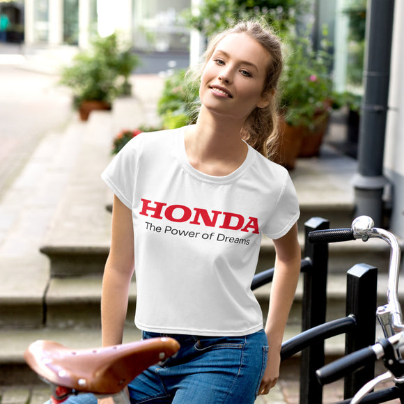 Honda Women's Crop Tee