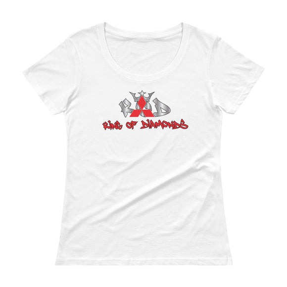 Mitsubishi 'KOD Ladies' Scoopneck T-Shirt