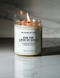 100 Years of Love For the Love of Gold Candle