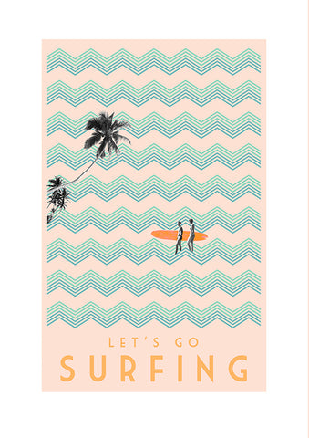 Prints by Marta - Vintage Surfing
