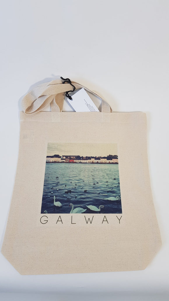 Canvas Tote Bag - Long Walk, Galway