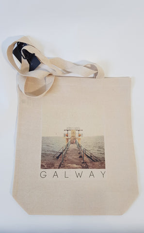 Canvas Tote Bag - Blackrock Tower