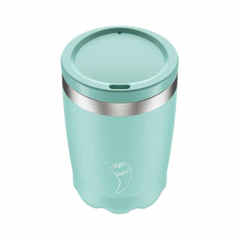 340ml Chillys Reusable Coffee Cup- Pastel Green
