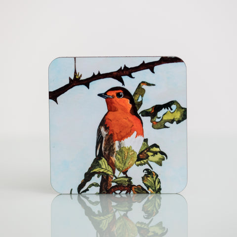 Wildlife Collection Coasters - Robin