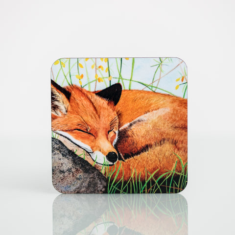 Wildlife Collection Coasters - Fox
