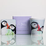 Mug and Coaster Set - Puffins