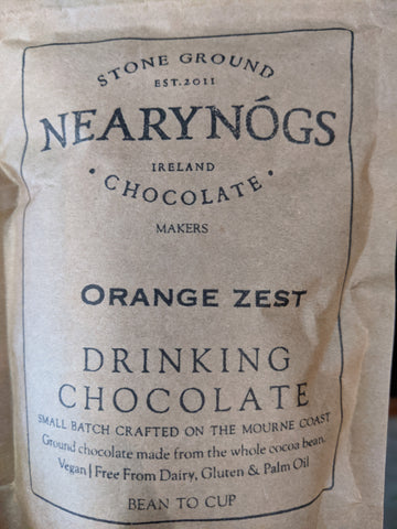 Peppermint Drinking Chocolate - NearyNogs - 180G Bag