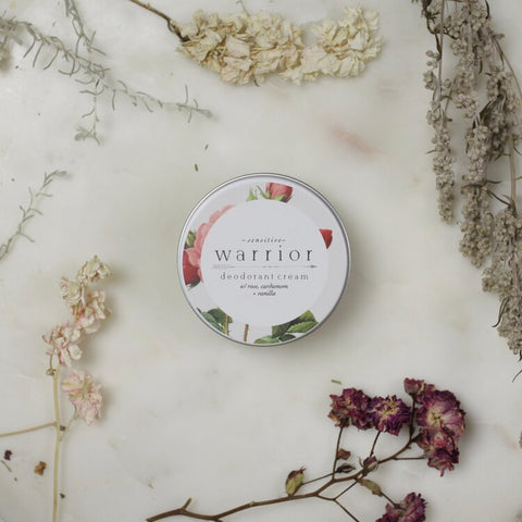 Warrior Sensitive Deodorant - Rose