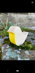 Wooden Robin - Yellow