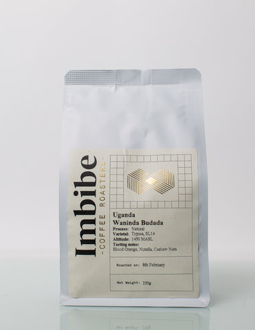 Imbibe Coffee Roasters - Uganda Waninda Budada - 250g Wholebean Coffee