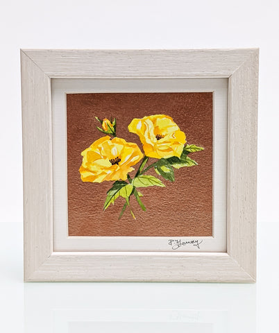 Yellow Roses - Original Watercolour painting