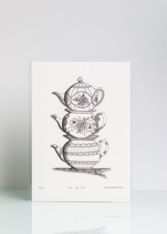 Time for Tea - Ltd Ed A4 Print