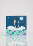 Swans - Greeting Card