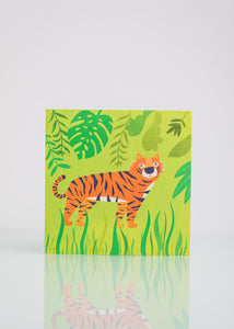 In The Jungle - Greeting Card