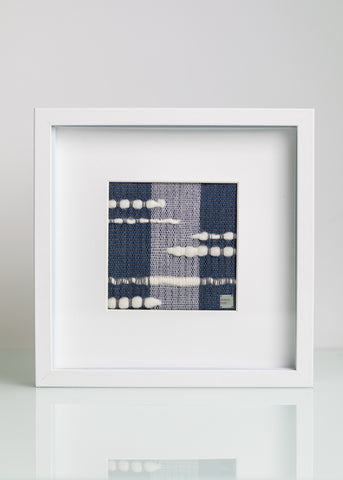 Handwoven Original Artwork - Framed #1
