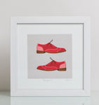 Brogues – Square Giclée art print