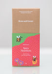 Bold and Spicy Hazelnuts Chocolate Bar Dark 62% Ecuador (70g Bar)