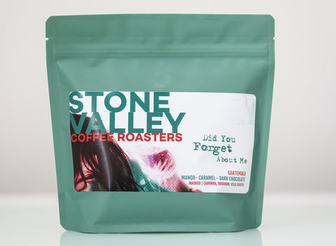 Stone Valley 250g Whole Beans - Did you Forget about me?