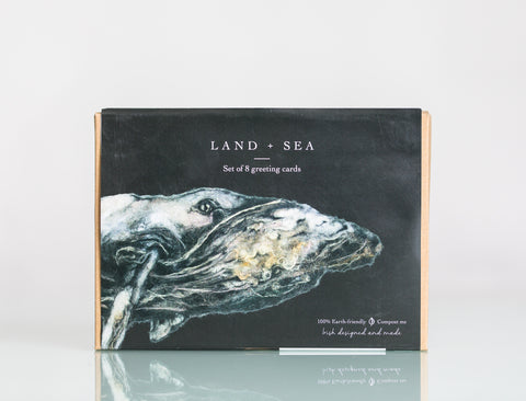 Greeting Cards - Land & Sea (Set of 8)
