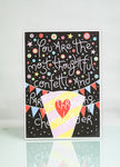 Thoughtful Confetti A4 Print