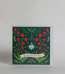 Congratulations (Flowers)  - Greeting Card