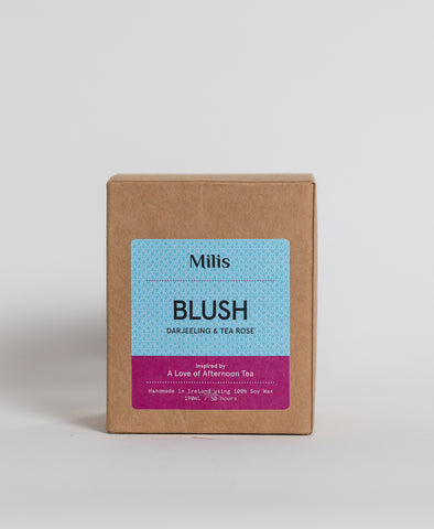 Blush Candle - Darjeeling & Tea Rose by Milis