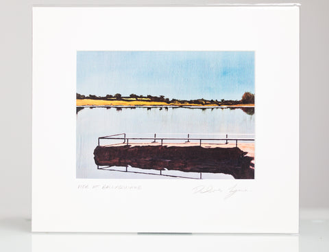 Pier at Ballyquirke - 8x10 Mounted Print