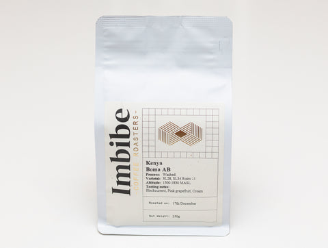 Imbibe Coffee Roasters - Kenya AA Siret - 250g Wholebean Coffee