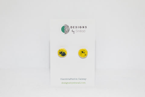 Circular Yellow Studs (small)