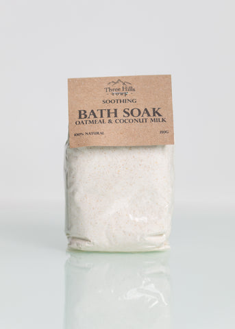 Oatmeal Bath Soak – Coconut Milk