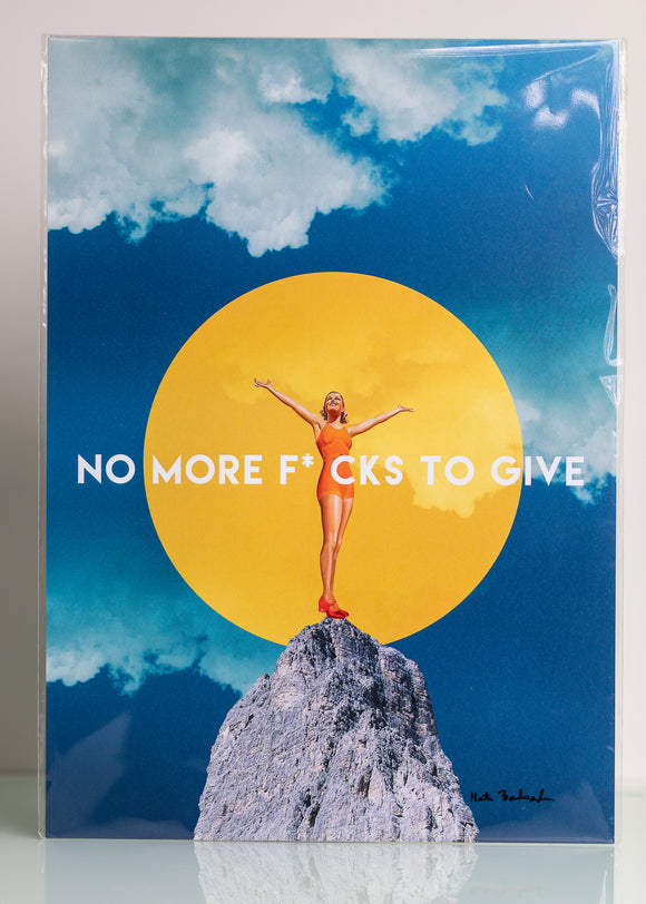 Prints by Marta - No More F***S