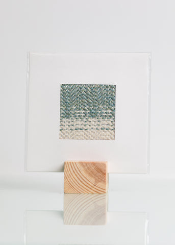 Weave Print - Handwoven Original Artwork # 7