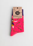 Wooden Spoon - Womens Socks Size 3 -7