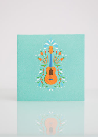 Pineapple - Greeting Card
