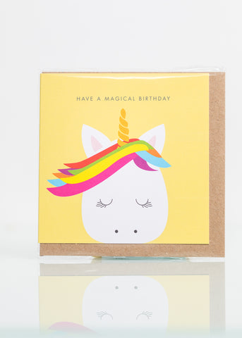 Magic Birthday Unicorn