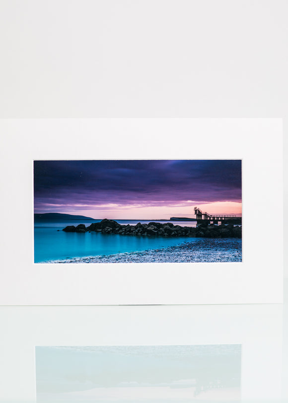 Blackrock Diving Tower - Sunset Print