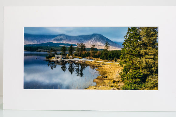 Lough Inagh - Mounted Print