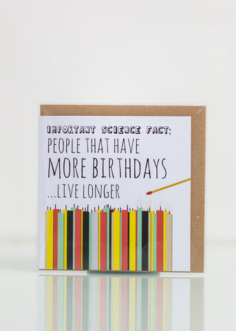 People With More Birthdays Live Longer