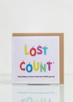 Lost Count - Birthday